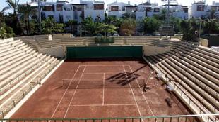 Pista Central del Club de Tenis Puente Romano