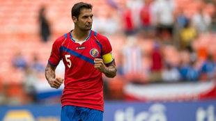 Celso Borges con la camiseta de Costa Rica