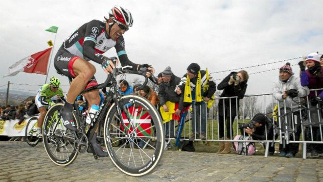 Fabian Cancellara, en el Tour de Flandes.
