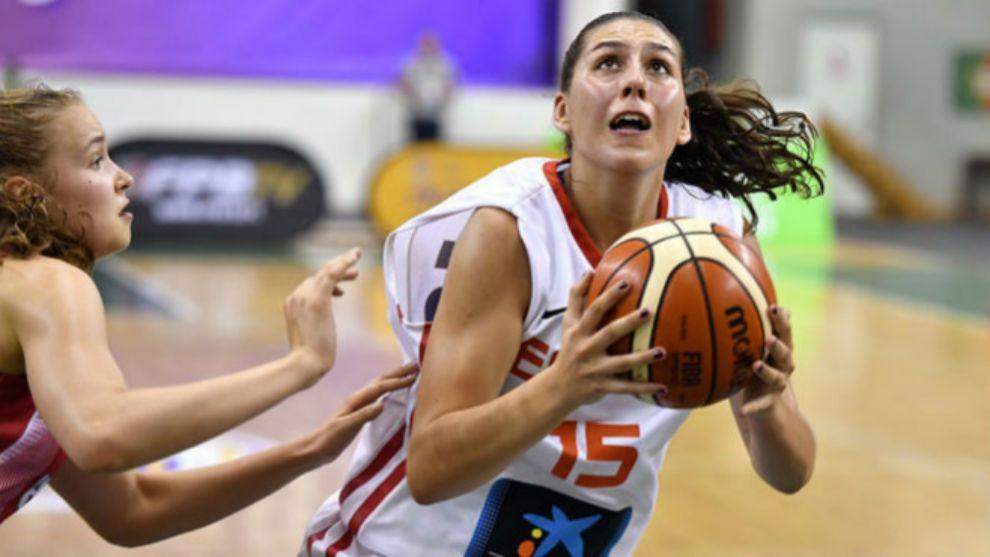 María Araújo ha representado a España en categorías inferiores