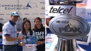 Entrega de apoyo social por parte de Fundación Telmex-Telcel