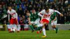Ricardo Rodr�guez convierte el penalti de la victoria