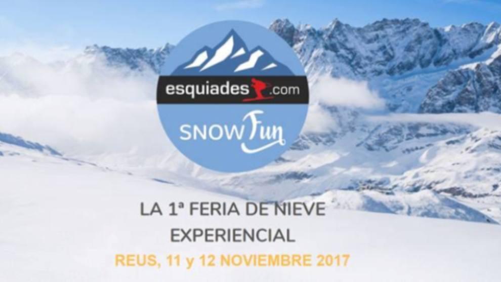 La feria SnowFun aúna la nieve y el esquí