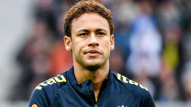 Neymar, en el partido ante Japón.