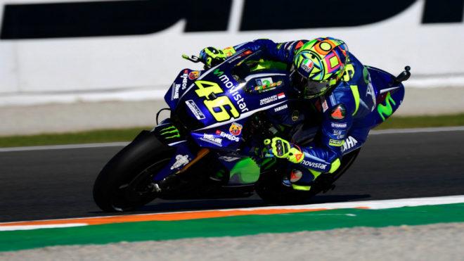 Rossi, en Cheste.