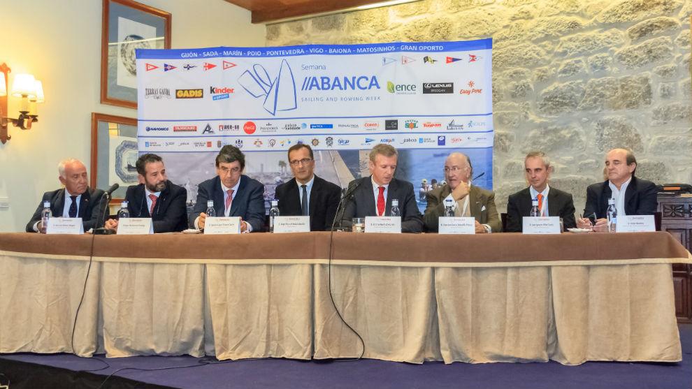 Alfonso Rueda, vicepresidente de la Xunta de Galicia, clausurando...