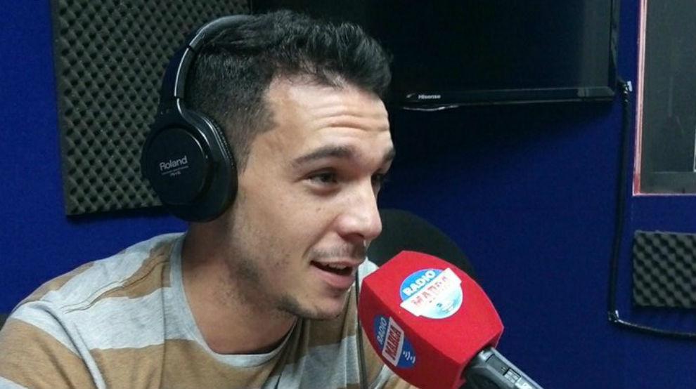 Nacho Casanova durante la entrevista en Radio MARCA.
