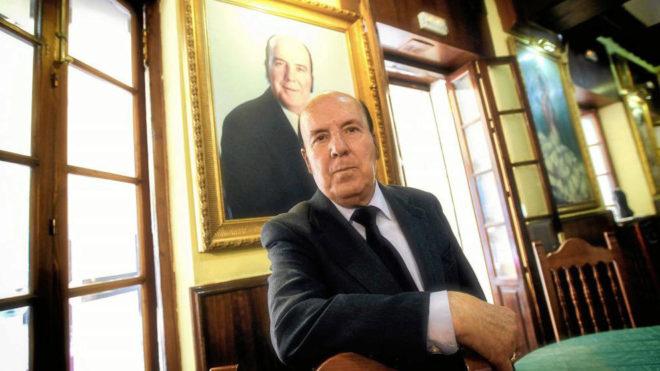 Chiquito de la Calzada, durante una entrevista concedida a MARCA en...