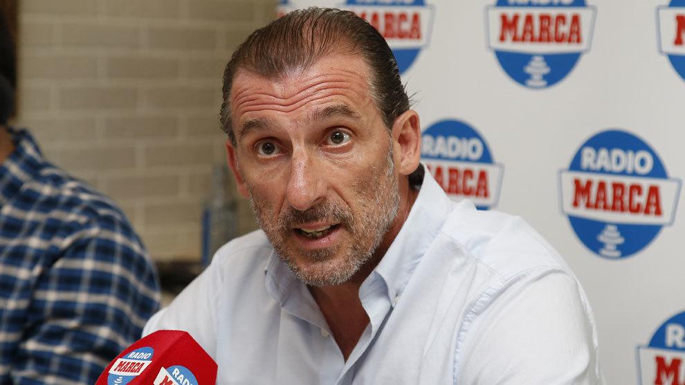Óscar Arias, en la tertulia de Radio MARCA Sevilla
