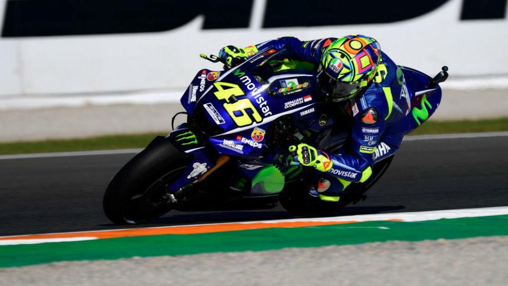 Valentino Rossi El rendimiento entre las dos motos no es