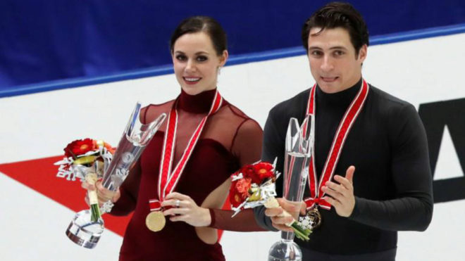 Virtue, Moir glide to victory in Japan, clinch final berth