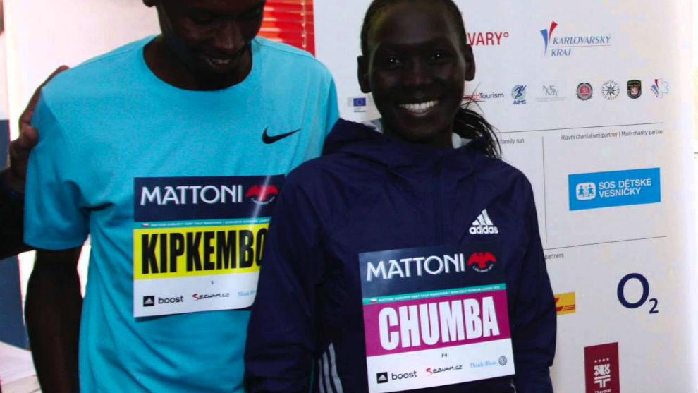 Eunice Chumba en una imagen de archivo.