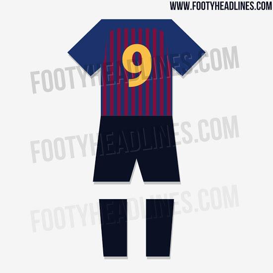 7a8e1997cc8fe FC Barcelona  Así lucirá la equipación del Barça 18-19