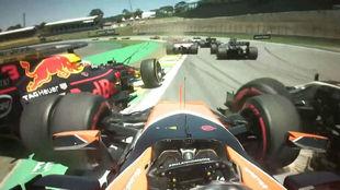 El bocadillo de Ricciardo, Vandoorne y Magnussen
