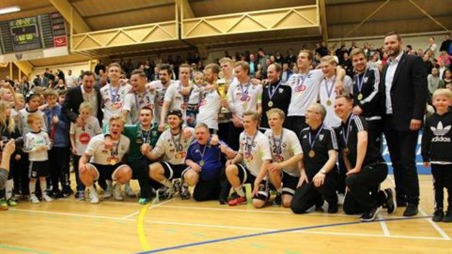 El FH Hafnarfjordur islandés, ganador de la tanda de siete metros
