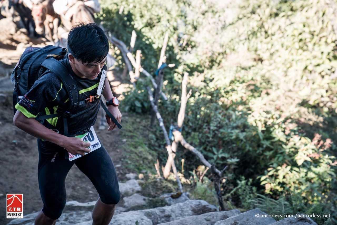 Suman Kulung, en la etapa.