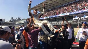 Calderón ganó su segundo título de NASCAR