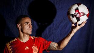 Rodrigo, en la entrevista con MARCA
