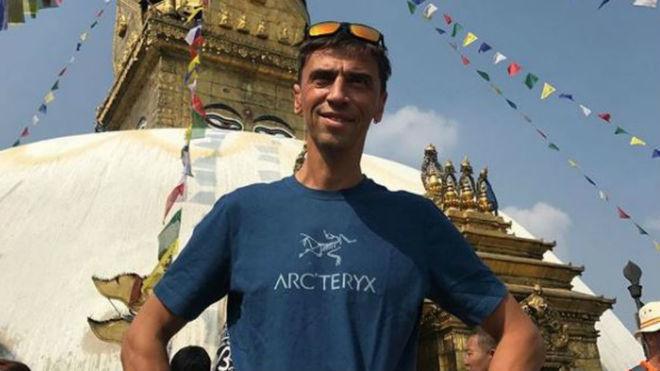 Valery Rozov, hace unos días en Katmandú.