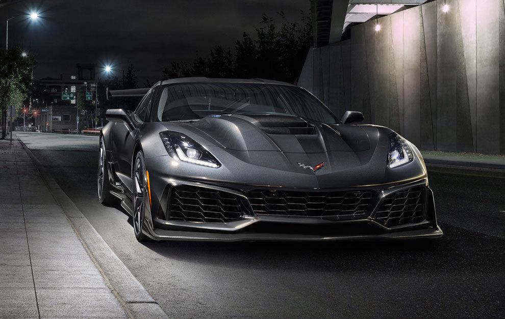 Chevrolet Corvette ZR1 2018: el americano más potente y rápido del ...