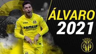 Álvaro González renueva con el Villarreal hasta 2021.