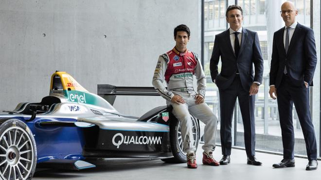 Lucas di Grassi (Campeón del Mundo de Fórmula E), Alejandro Agag...