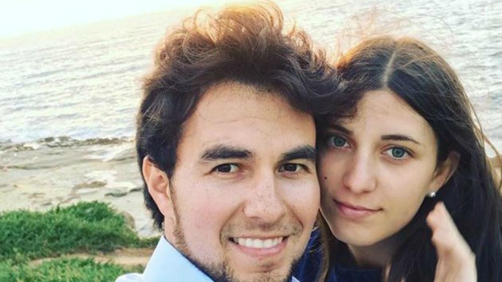 Checo Pérez y Carola Martínez.