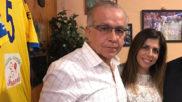 Antonio Tapia, a la izquierda de la imagen.