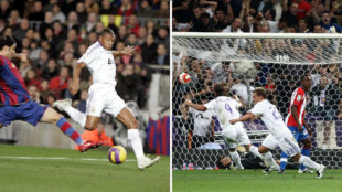 Im�genes del �ltimo a�o en el que el Madrid gan� el Cl�sico y el...