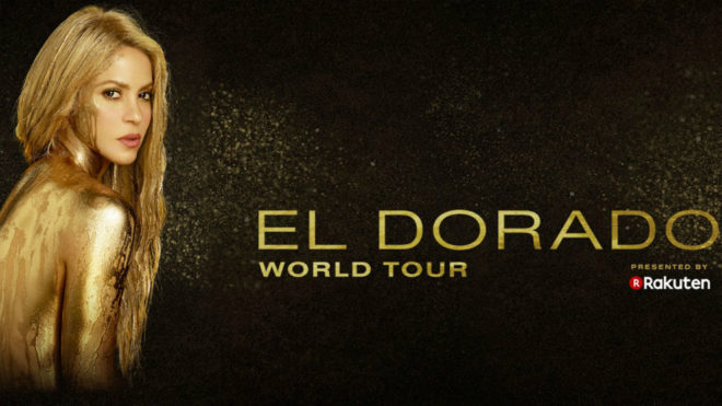Shakira 'El Dorado World Tour'