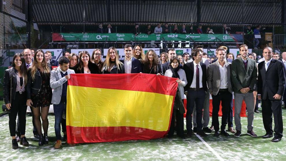 Equipo español desplazado a Estoril para disputar el Europeo.