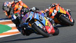 Álex Márquez, en una carrera de Moto2 esta temporada