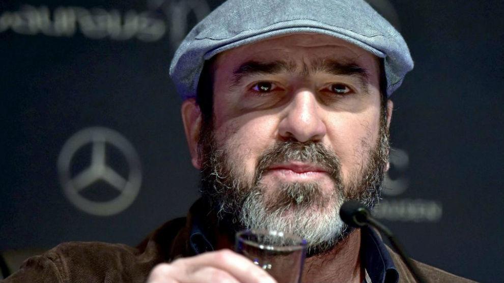 Cantona durante los Premios Laureus