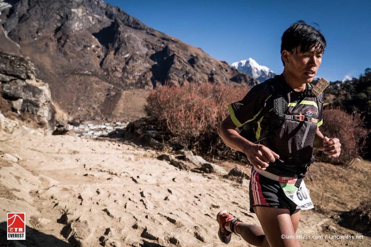 Suman Kulung, durante la etapa.