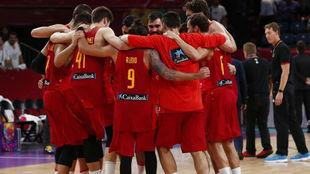 España se conjura tras un partido del Eurobasket