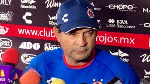 José Saturnino Cardozo se dijo molesto por los resultados.