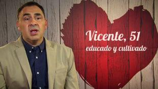 José Vicente Casanova, presidente de la Federación de Peñas del...