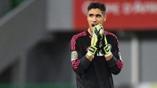 Munir, con la selección de Marruecos.