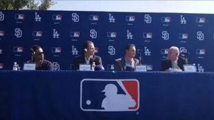 Se presentan los juegos de la MLB en México.