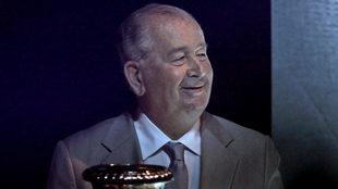 Grondona , durante una presentación de la Copa América