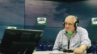 Lorenzo Sanz (74), en su visita a Onda Cero