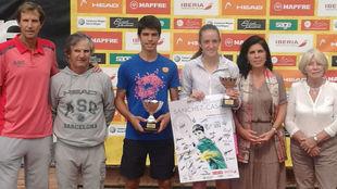 Alcaraz, campe�n de la Youth Cup