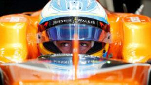 Fernando Alonso, en Jap�n