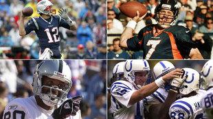 Brady jugará en México como ya lo hicieran Elway, Rice y Manning.
