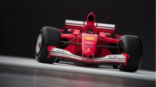 El F2001 que pilotó Schumacher venido en Sotheby's