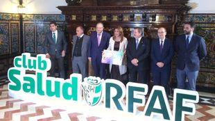 Presentación del Club Salud RFAF