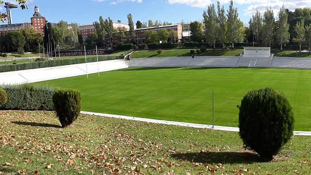 Panorámica actual del Estadio de la Universidad Complutense de Madrid