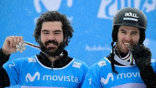 Regino Hernández y Luca Eguibar muerden la plata logrado en los...