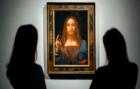 La obra Salvator mundi de Leonardo da vinci