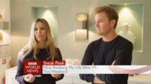 Nico Rosberg, junto a su mujer Vivian Sibold